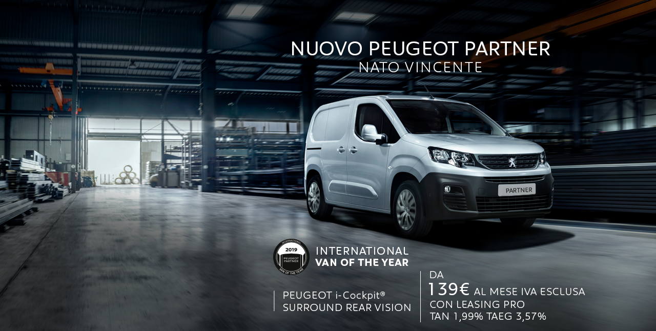 Nuovo Peugeot Partner