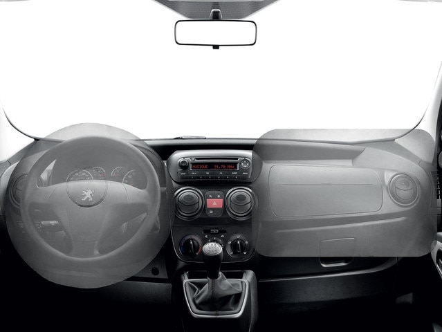 PEUGEOT Bipper: Airbags