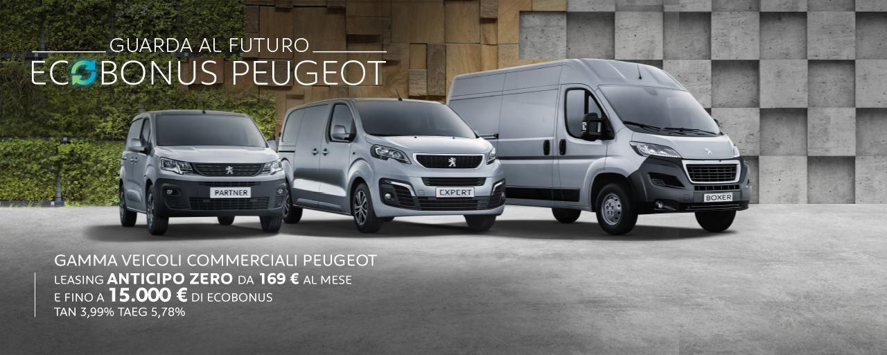 Veicoli Commerciali Ecobonus Peugeot