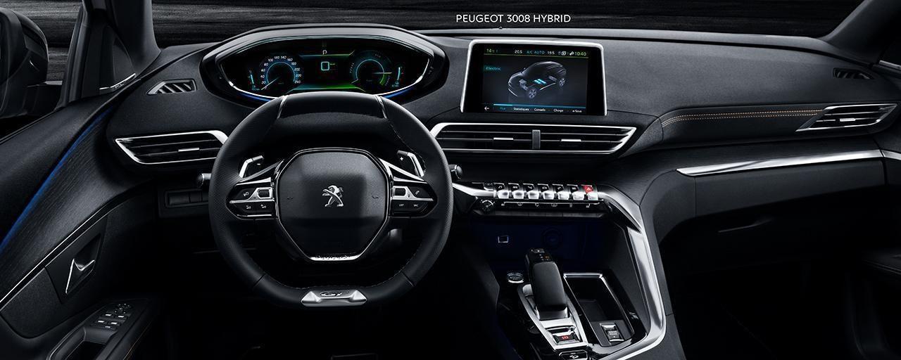 PEUGEOT 3008 SUV: i-Cockpit