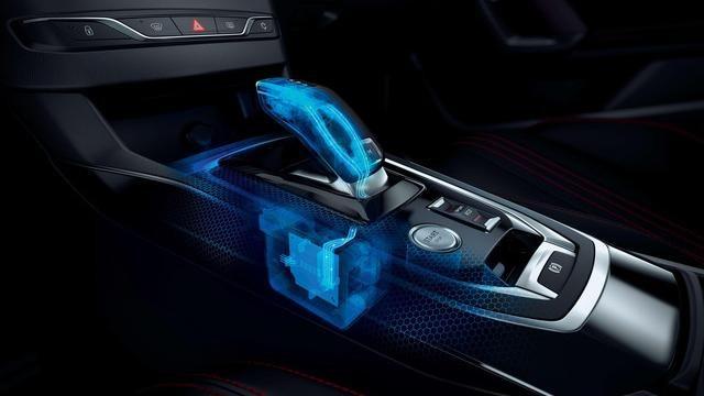Nuova PEUGEOT 308 GT- Leva del cambio