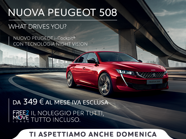 Nuovo Peugeot 508